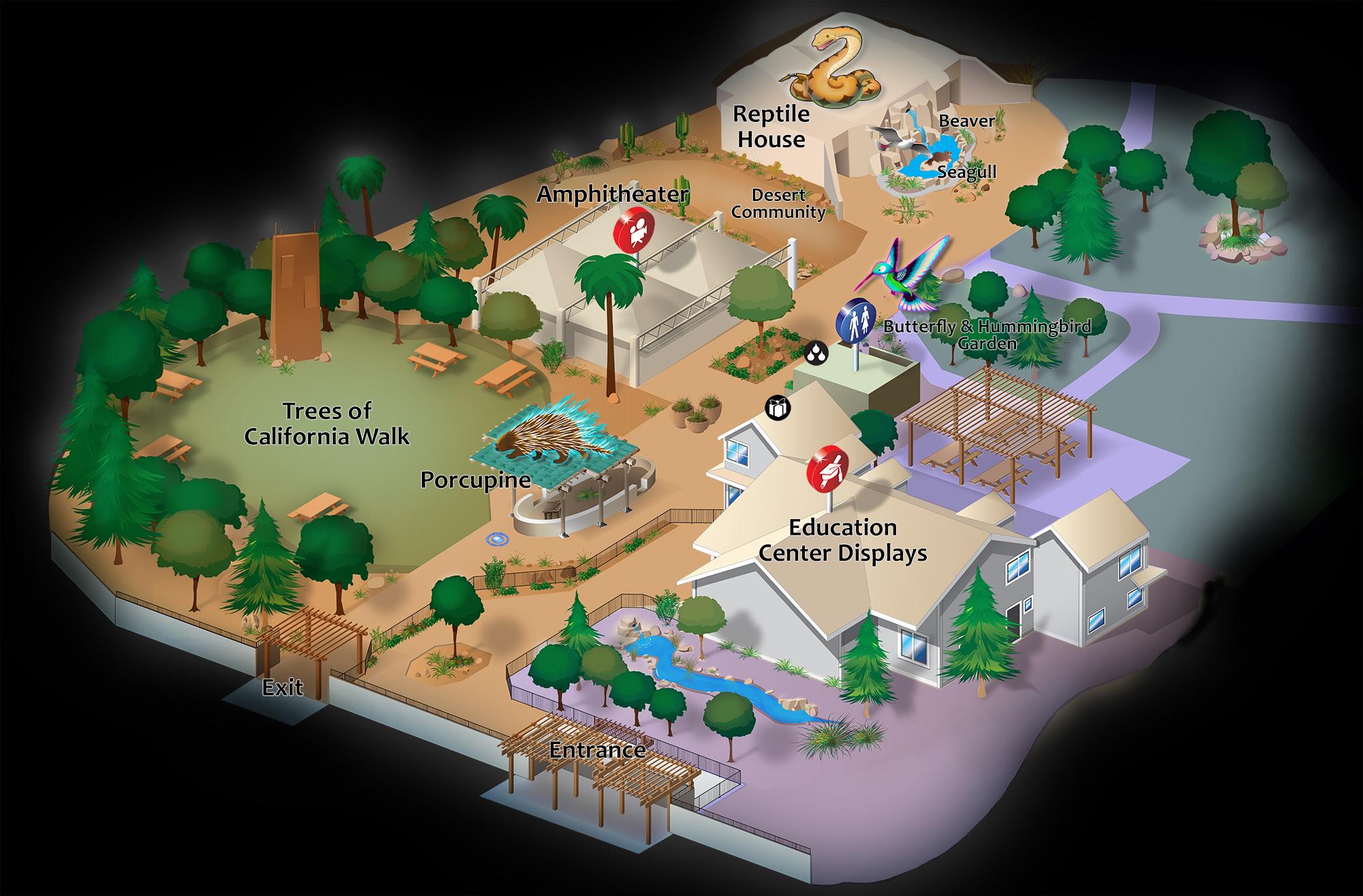 CALM Zoo Map